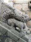 石柱饰0100,石柱饰,纹饰雕塑,栏杆 石狮 台阶