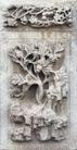 壁雕遗雕0055,壁雕遗雕,纹饰雕塑,