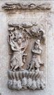壁雕遗雕0066,壁雕遗雕,纹饰雕塑,天兵 神仙 宗教