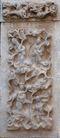 壁雕遗雕0073,壁雕遗雕,纹饰雕塑,仙境 仙女 飞舞
