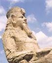 佛雕精雕0172,佛雕精雕,纹饰雕塑,走进埃及 埃及石像 威严肃穆