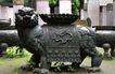 龙腾石雕0097,龙腾石雕,纹饰雕塑,石狮 守卫 院子