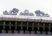 龙腾石雕0102,龙腾石雕,纹饰雕塑,龙纹 屋顶
