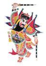 门神财神0006,门神财神,工艺,战将 舞鞭 武力