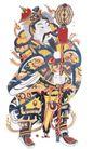 门神财神0019,门神财神,工艺,大棒 装备 防守