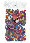 门神财神0024,门神财神,工艺,财神 传说 神话