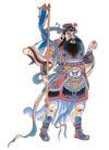 门神财神0025,门神财神,工艺,门神 传统 民间
