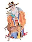 门神财神0043,门神财神,工艺,一头鹿