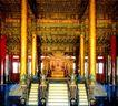 太和殿内景,历史胜地,首都风光,皇宫 宫殿 皇位
