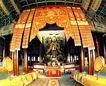 弥勒佛立像,历史胜地,首都风光,古迹 庙宇 花纹