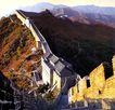 慕田峪长城,历史胜地,首都风光,长城 中国名胜 八达岭段