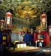 养心殿内景,中国名胜,首都风光,皇帝 处政 办公