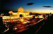 北京西站,中国名胜,首都风光,凌晨 天色 泛蓝