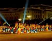 岭鼓阵阵,中国名胜,首都风光,舞蹈 广场 表演