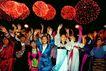庆国庆-01,中国名胜,首都风光,烟火 人群 庆祝