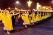 物姿轻盈,中国名胜,首都风光,双人舞 国标 广场