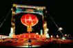 缤纷灯饰-02,中国名胜,首都风光,红灯笼 中国节日 喜庆