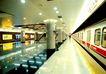 都市的脉动-01,中国名胜,首都风光,列车 地铁 圆柱