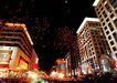 王府井之夜,北京夜景,首都风光,夜市 繁华 商业