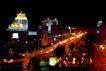 西二环路,北京夜景,首都风光,都市 炫目 霓虹灯