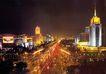 西长安街,北京夜景,首都风光,央视 广播 电视大楼