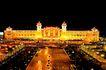 北京火车站,七彩之夜,首都风光,人民 大会堂 夜景