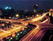 建国门立交桥,七彩之夜,首都风光,晚上 都市 路灯