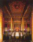 太和殿内景,雄伟紫禁城,首都风光,金銮 宝殿 龙椅