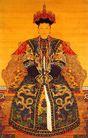 清朝孝惠章皇后朝服像,雄伟紫禁城,首都风光,慈禧 太后 富贵