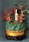 珍珠玛瑙制作的盆景,雄伟紫禁城,首都风光,珊瑚 宝物 古董