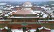 神武门雪,雄伟紫禁城,首都风光,城门 城墙 古迹