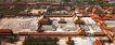 紫禁城前朝三大殿鸟瞰,雄伟紫禁城,首都风光,古代建筑 房屋 城院