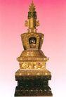 镶嵌宝石的金佛塔,雄伟紫禁城,首都风光,金色宝贝