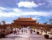 乾清宫,皇宫一角,首都风光,紫禁城 游人 观赏
