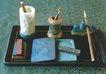 皇帝用过的物品-01,皇宫一角,首都风光,桌面 毛笔 文房墨宝