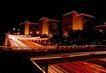 万家灯火-01,辉煌北京,首都风光,夜间 暗灯 隐约