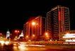 万家灯火-03,辉煌北京,首都风光,街边 昏暗 路灯