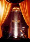 京城大厦,辉煌北京,首都风光,窗帘 打开 观景