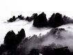 再登黄山,名城楼宇,首都风光,山峰 白雾 环绕