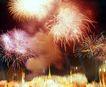 古城城门0173,古城城门,首都风光,节日气氛 放烟火 五彩斑斓
