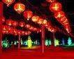 古城城门0174,古城城门,首都风光,广场 大红灯笼 红柱子