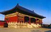 祈年门,历史古迹,首都风光,木屋 蓝天 美景