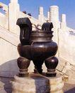 香炉-02,历史古迹,首都风光,栏杆 铜鼎 青铜