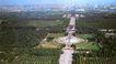 鸟瞰圜丘坛,历史古迹,首都风光,北京 地坛 全景