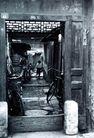 北京胡同0065,北京胡同,首都风光,木屋 门槛 小孩