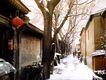 北京胡同0081,北京胡同,首都风光,街头 灯笼 胡同