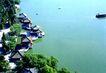 五龙亭,鸟瞰北京,首都风光,湖畔 亭台 观赏