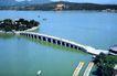 十七孔桥,鸟瞰北京,首都风光,小桥 连接 湖心岛