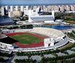 国家奥林匹克体育中心,鸟瞰北京,首都风光,露天 足球场 体育馆