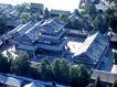 大戏楼,鸟瞰北京,首都风光,宫庭 阁楼 庭院